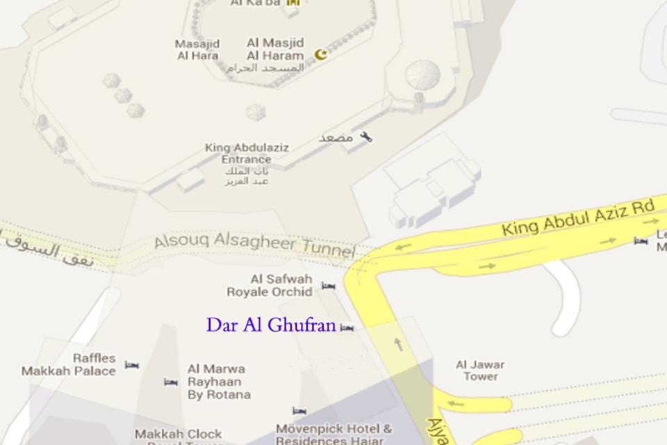 Makkah_Dar_Al_Ghufran_Map