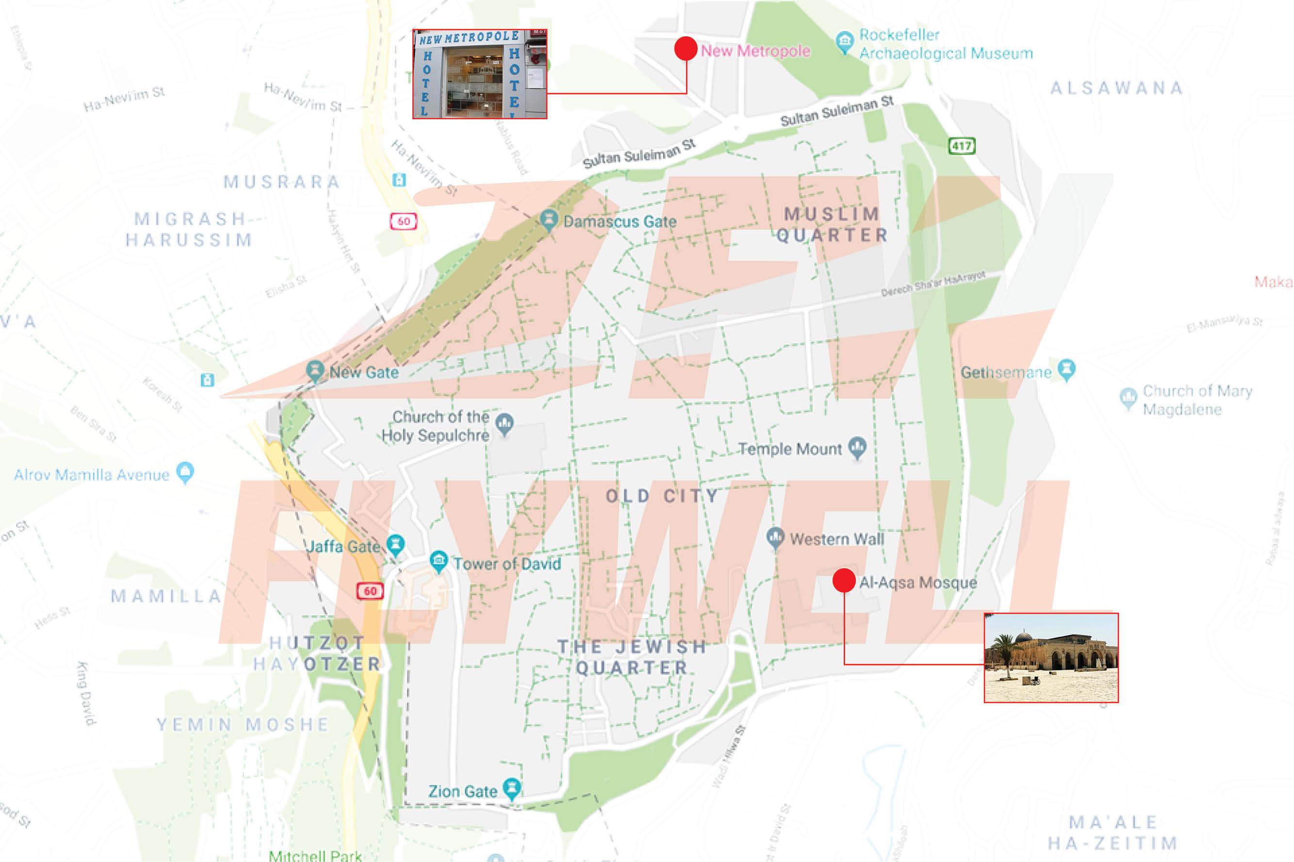 New_Metropole_Hotel_Map